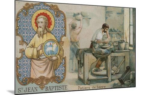 St John the Baptist and Potters--Mounted Giclee Print