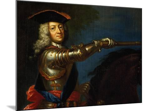 Portrait of George I of Great Britain--Mounted Giclee Print