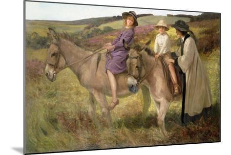 The Donkey Ride, 1912-George Edmund Butler-Mounted Giclee Print