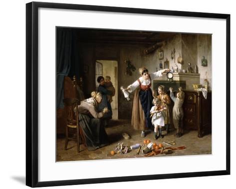 Christmas Morning-Paul Seignac-Framed Art Print