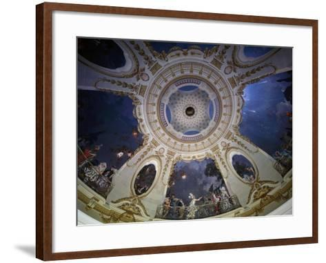 Ceiling of Rotunda Painted by Francois Coty--Framed Art Print
