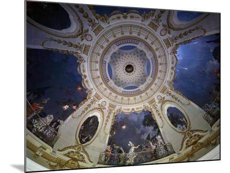 Ceiling of Rotunda Painted by Francois Coty--Mounted Giclee Print