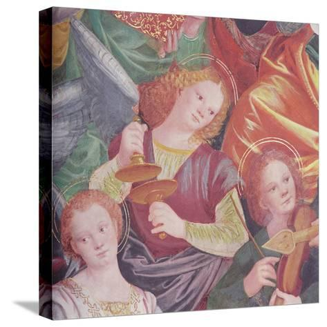 The Concert of Angels, 1534-36-Gaudenzio Ferrari-Stretched Canvas Print