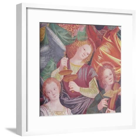 The Concert of Angels, 1534-36-Gaudenzio Ferrari-Framed Art Print