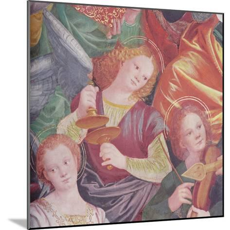 The Concert of Angels, 1534-36-Gaudenzio Ferrari-Mounted Giclee Print