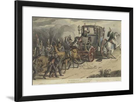 Bonaparte's Carriage--Framed Art Print