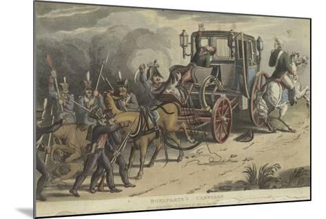 Bonaparte's Carriage--Mounted Giclee Print