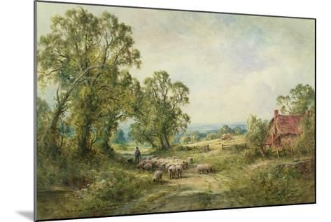 A Lane Near Pulborough-Henry John Kinnaird-Mounted Giclee Print