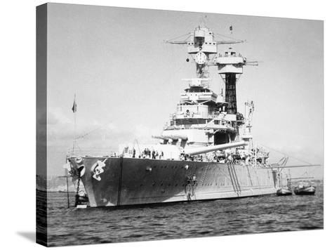 USS California--Stretched Canvas Print