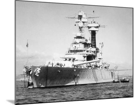 USS California--Mounted Photographic Print