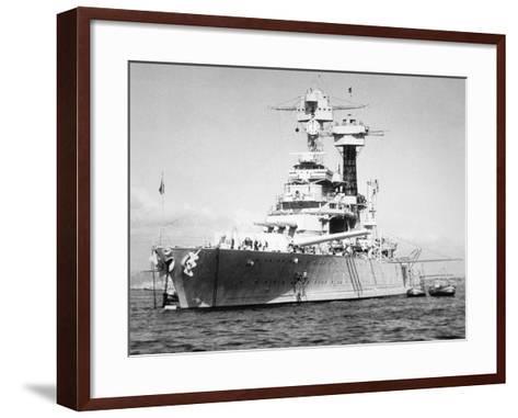 USS California--Framed Art Print