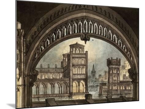 Set Design-Pietro Bertoja-Mounted Giclee Print