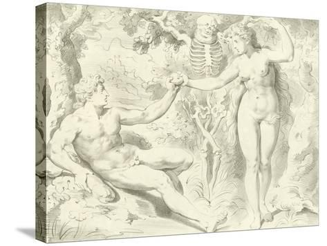 Adam and Eve-Frans The Elder Floris-Stretched Canvas Print
