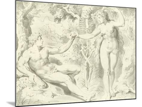 Adam and Eve-Frans The Elder Floris-Mounted Giclee Print