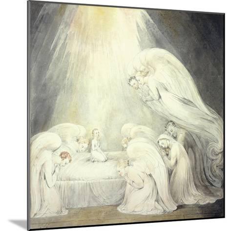 The Infant Jesus Saying His Prayers, C.1805-William Blake-Mounted Giclee Print