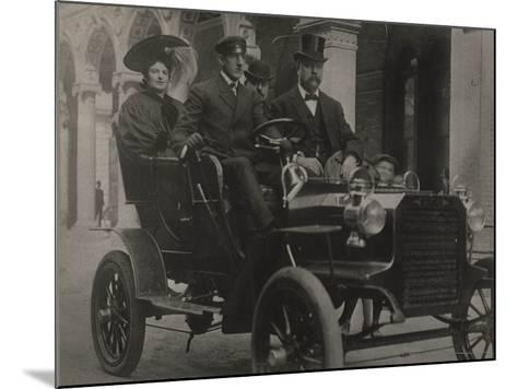 President Taft in Car, C.1909-13--Mounted Photographic Print
