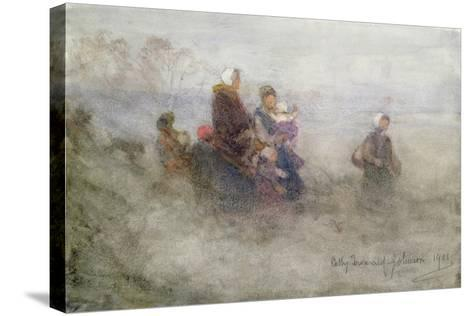 Returning Journey, 1901-Patty Townsend Johnson-Stretched Canvas Print