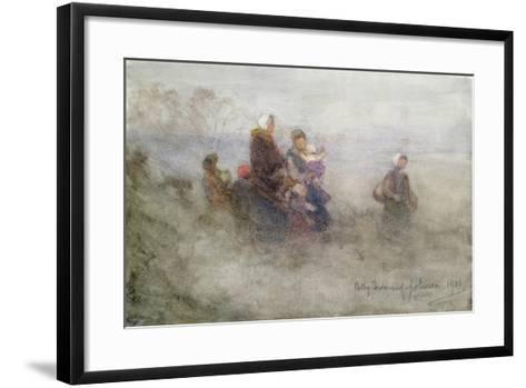 Returning Journey, 1901-Patty Townsend Johnson-Framed Art Print