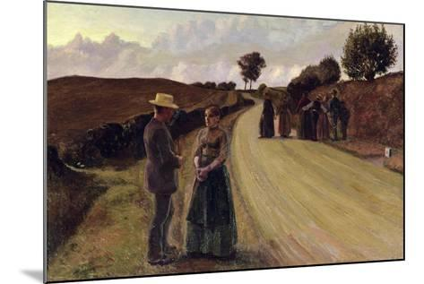 Love Making in the Evening, 1889-91-Fritz Syberg-Mounted Giclee Print