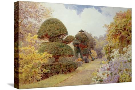 Barncluith, Lanarkshire, 1900-George Samuel Elgood-Stretched Canvas Print