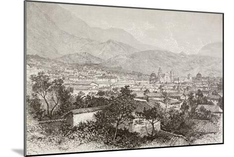 Overall View of Bogota, Colombia-English School-Mounted Giclee Print