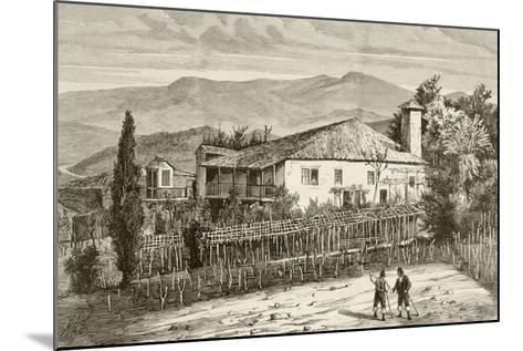 House in Casdemiro, Galicia, Spain--Mounted Giclee Print