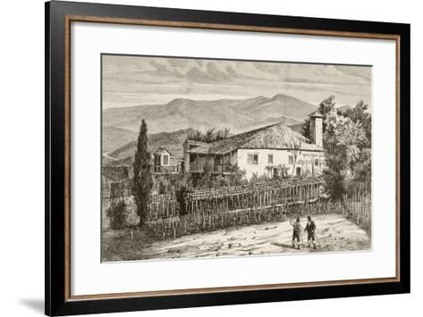 House in Casdemiro, Galicia, Spain--Framed Art Print