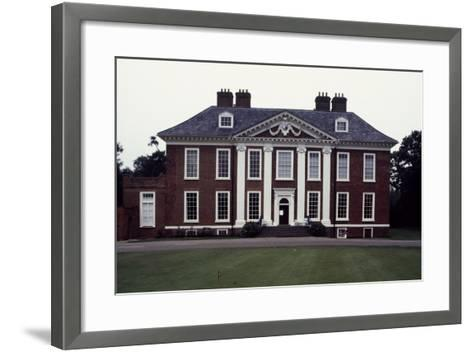 Facade of Eltham Lodge, 1663-1664-Hugh May-Framed Art Print