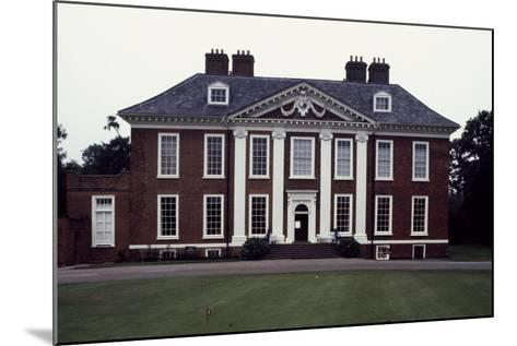 Facade of Eltham Lodge, 1663-1664-Hugh May-Mounted Giclee Print