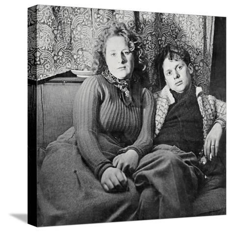 Dylan Thomas--Stretched Canvas Print