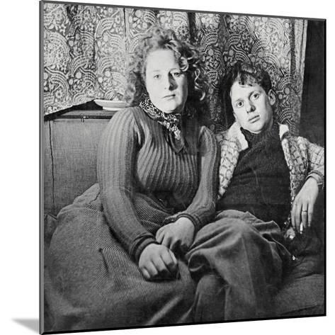 Dylan Thomas--Mounted Photographic Print