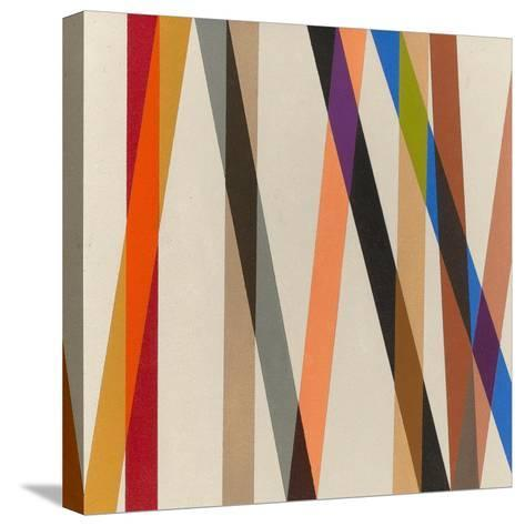 Candy Stripe II, 1987-Michael Canney-Stretched Canvas Print