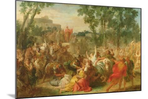 Study for Rape of the Sabines-Gabriel Francois Doyen-Mounted Giclee Print