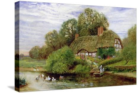 Tranquility-Arthur Claude Strachan-Stretched Canvas Print