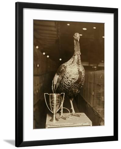 The Grand Champion Gobbler of the World--Framed Art Print