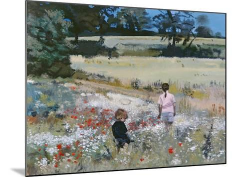 Summers Day: Ande, 1995-Gillian Furlong-Mounted Giclee Print
