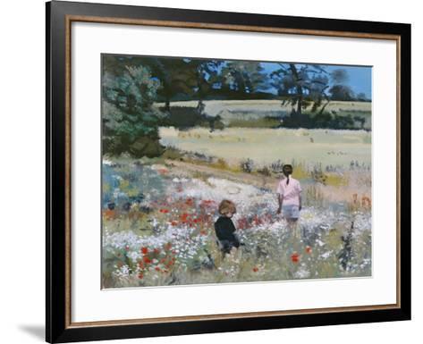 Summers Day: Ande, 1995-Gillian Furlong-Framed Art Print