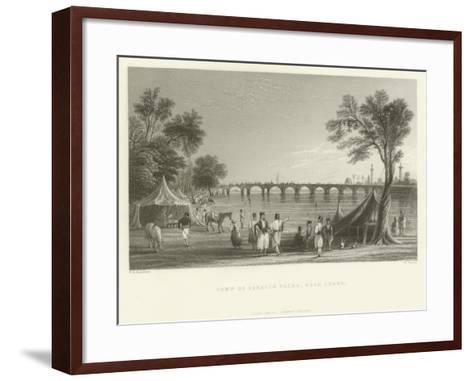 Camp of Ibrahim Pasha, Near Adana, Turkey, 1837--Framed Art Print