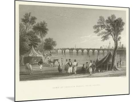 Camp of Ibrahim Pasha, Near Adana, Turkey, 1837--Mounted Giclee Print