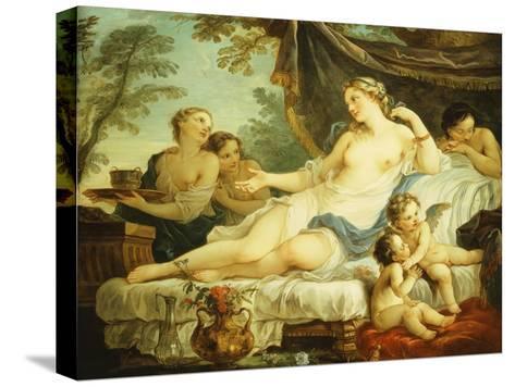 The Age of Venus-Charles Joseph Natoire-Stretched Canvas Print