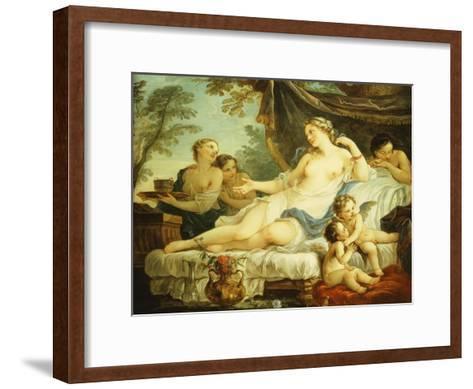 The Age of Venus-Charles Joseph Natoire-Framed Art Print