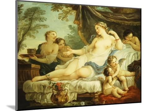 The Age of Venus-Charles Joseph Natoire-Mounted Giclee Print