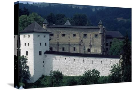 Banska Stiavnica's Old Castle--Stretched Canvas Print