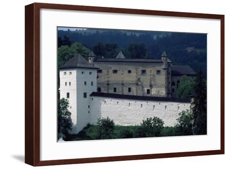 Banska Stiavnica's Old Castle--Framed Art Print