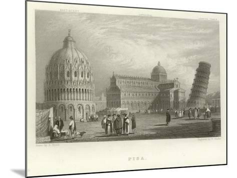 Pisa-Samuel Prout-Mounted Giclee Print