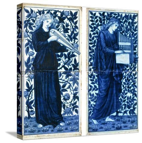 A Set of Four William Morris Co, C.1900--Stretched Canvas Print