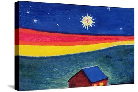 Star of Bethlehem, C.1912-Eric Gill-Stretched Canvas Print