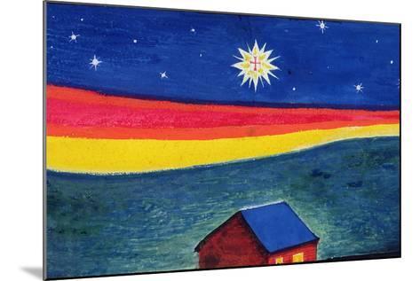 Star of Bethlehem, C.1912-Eric Gill-Mounted Giclee Print