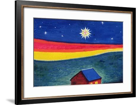 Star of Bethlehem, C.1912-Eric Gill-Framed Art Print