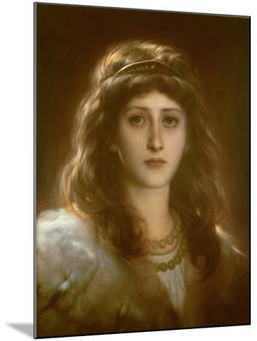 Portrait of a Lady-Frank Bernard Dicksee-Mounted Giclee Print